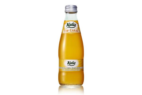 Portakal 250 ml. Doğal Maden Suyu (Vida Kapak)