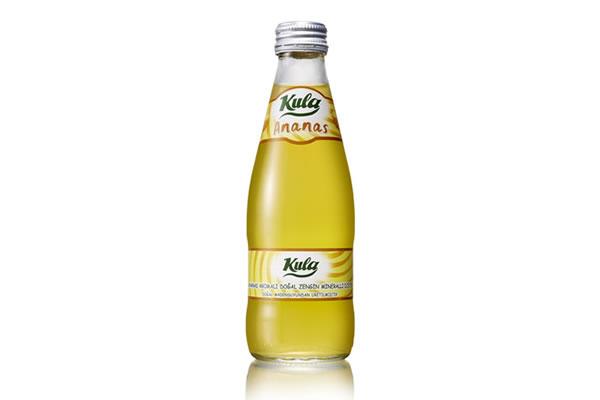 Ananas 200 ml. Doğal Maden Suyu (Vida Kapak)