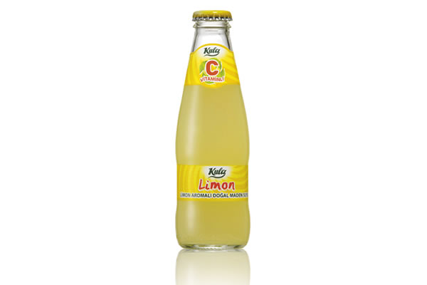 Limon C Vitaminli 200 ml. Doğal Maden Suyu (Taç Kapak)